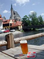 写真/川とビール