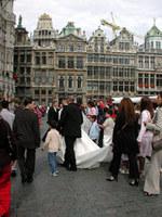 ※写真/広場での結婚式