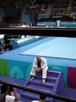 ※写真/負けて泣くロシアの選手