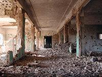 ※写真/爆撃された病院