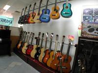 ギターショップを発見。さてさてどんなのがあるか…