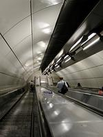 ロンドンブリッジ駅のエスカレーター