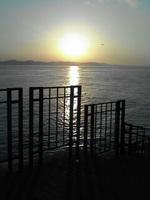 江ノ島からの日の出